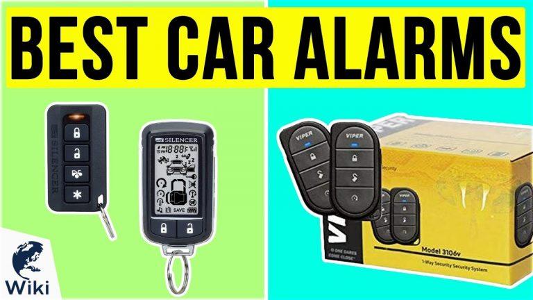 8 Best Car Alarms 2020