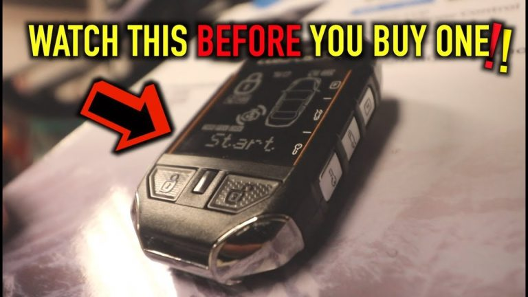WATCH THIS BEFORE YOU BUY A REMOTE START FOR YOUR CAR..