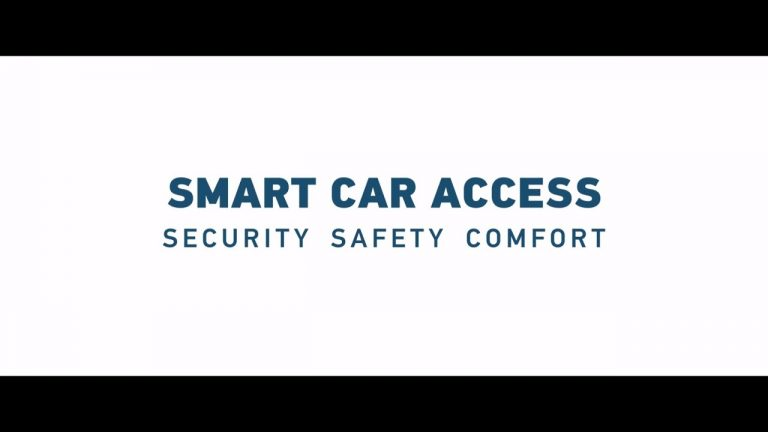 HELLA Smart Car Access –  keyless vehicle access with uncompromised security and safety