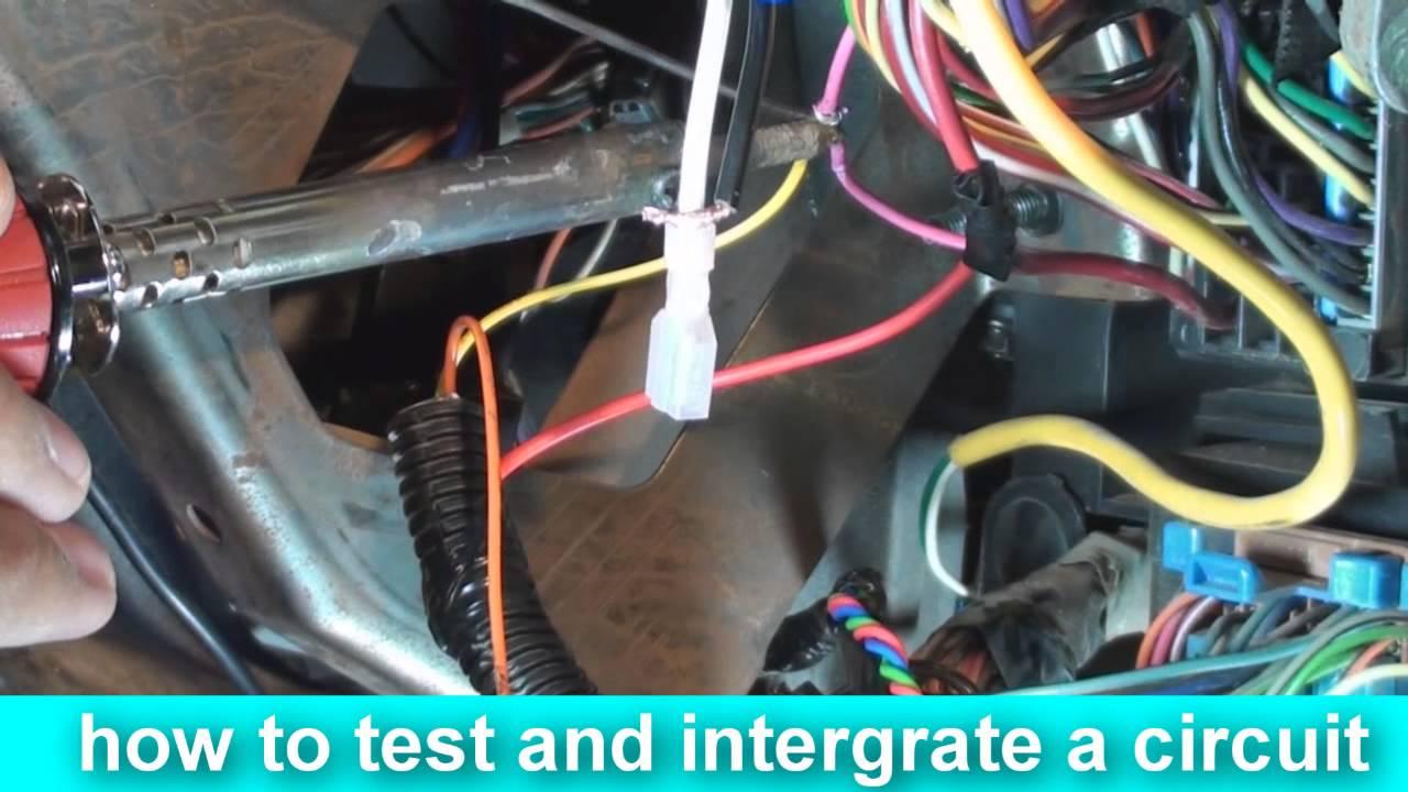install an alarm car security system