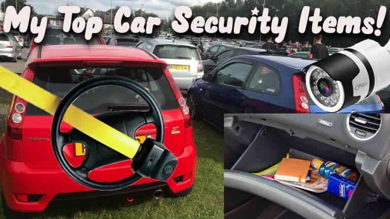 My Top 5 Car Security Items 2020
