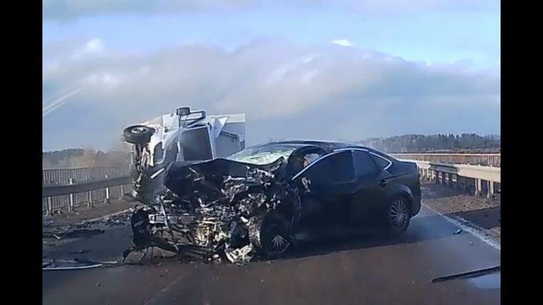 Russian Dash Cam Car Crash Compilation – January 2019