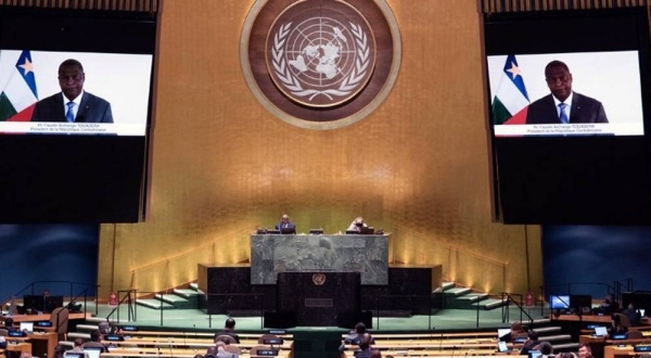 CAR president calls for better representation of Africa on Security Council