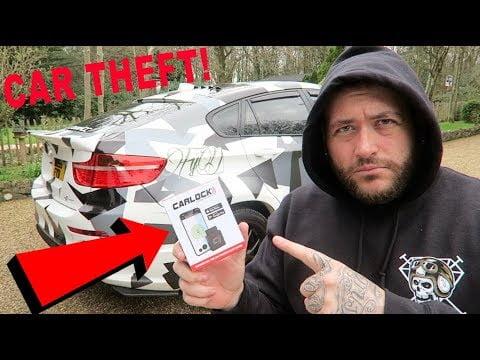 Car Lock Anti-Theft Device