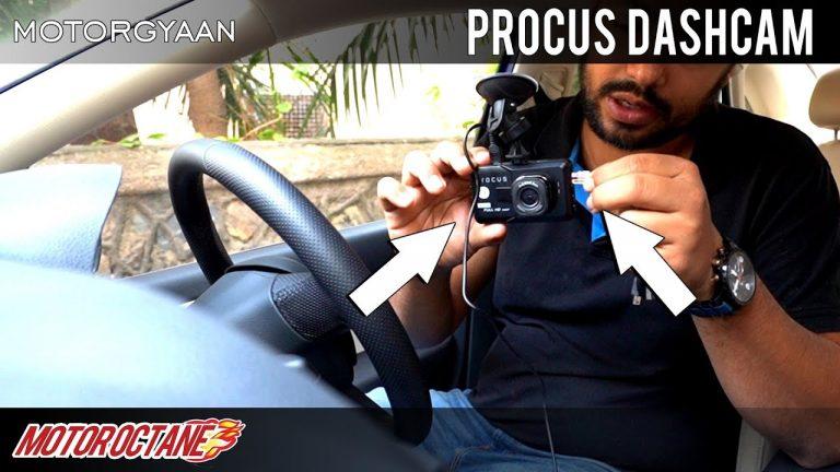 Best Cam Dashcam in India Hunt – Ep 1- Procus | Hindi | MotorOctane