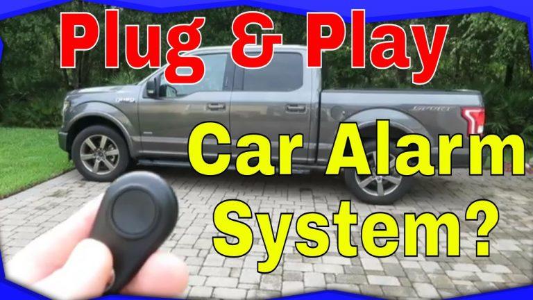 Technaxx TX-100 DIY Plug and Play Install Car Alarm System
