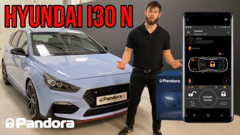 Is this the ultimate car alarm? Pandora Elite V2 fitted into a Hyundai I30N