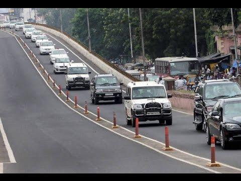 Shri. Narendra Modi's PM Convoy in Hyderabad | Cloud access security | 100 cars Live, Full security