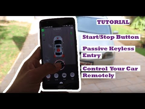 Control your Car with your Phone