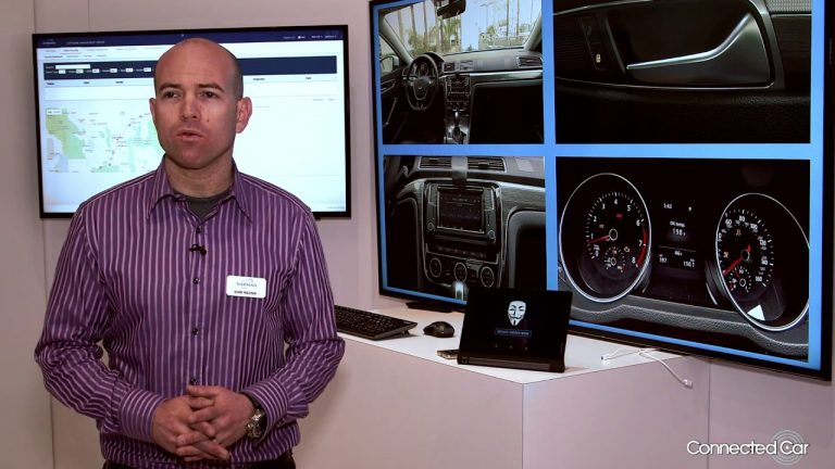 Connected Car at CES 2017: Harman cyber security demo